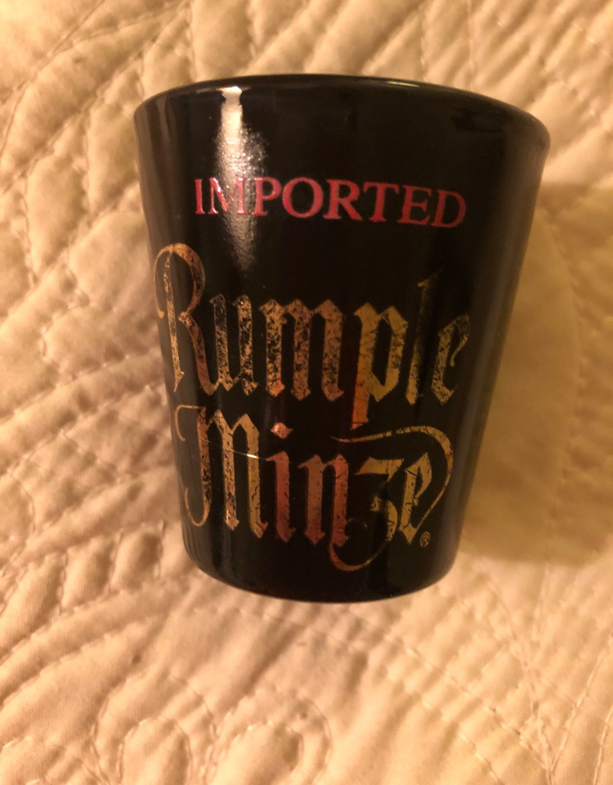 Rumple Minze Shot Glass