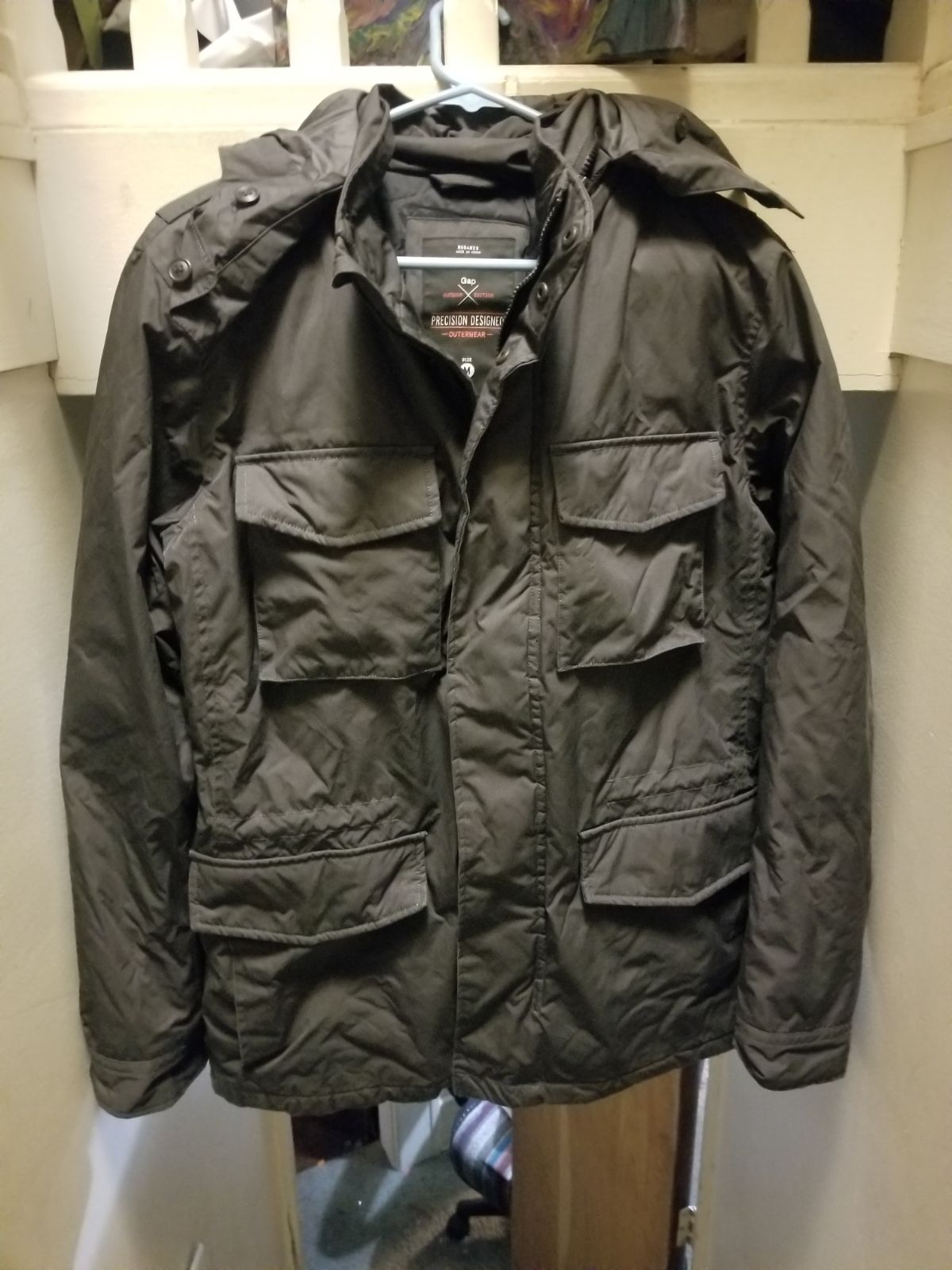 Gap mens size Medium outdoor jacket