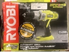 Drill cordless Autoshift Drill. Ryobi