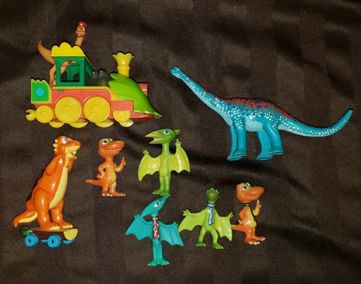 PBS Dinosaur Train Lot of 8