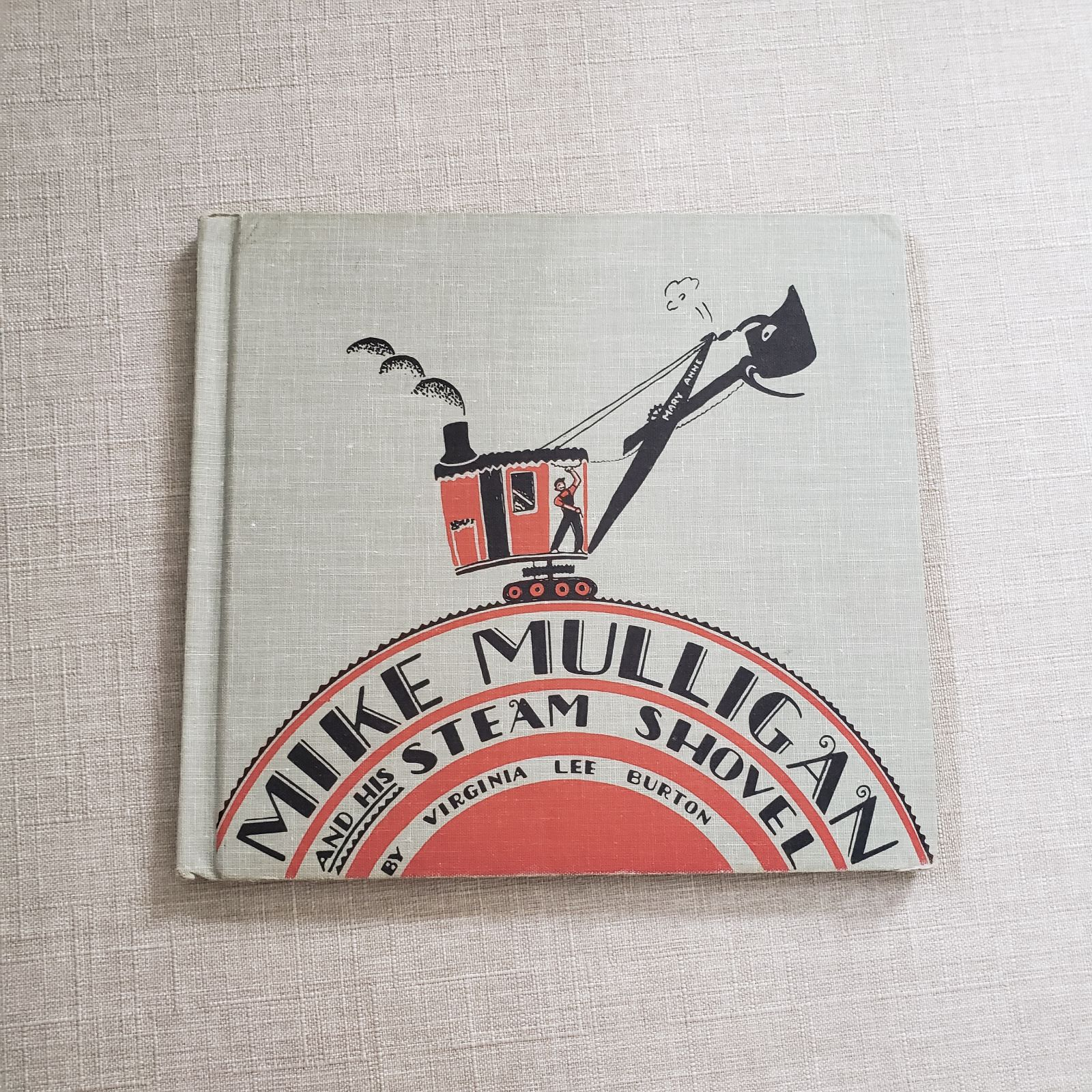 Vintage Mike Mulligan Book