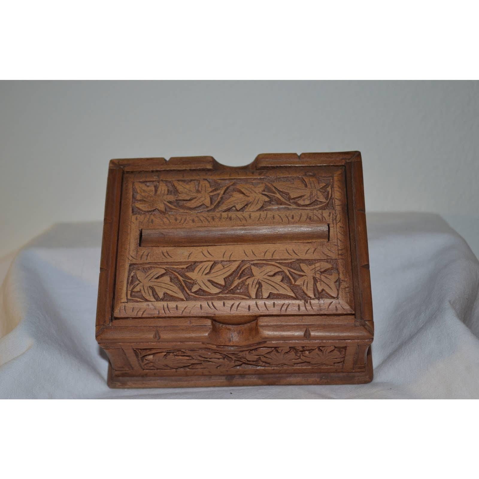 Vintage Black Forest Cigarette Box