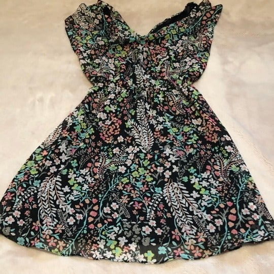 Candie's Floral Print Dress Size XS