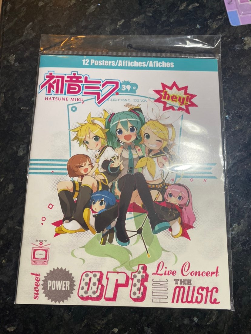 Hatsune Miku Posters Anime Poster New