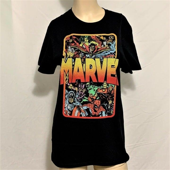 Marvel Shirt Falcon Hulk Ben Day Dot 2XL