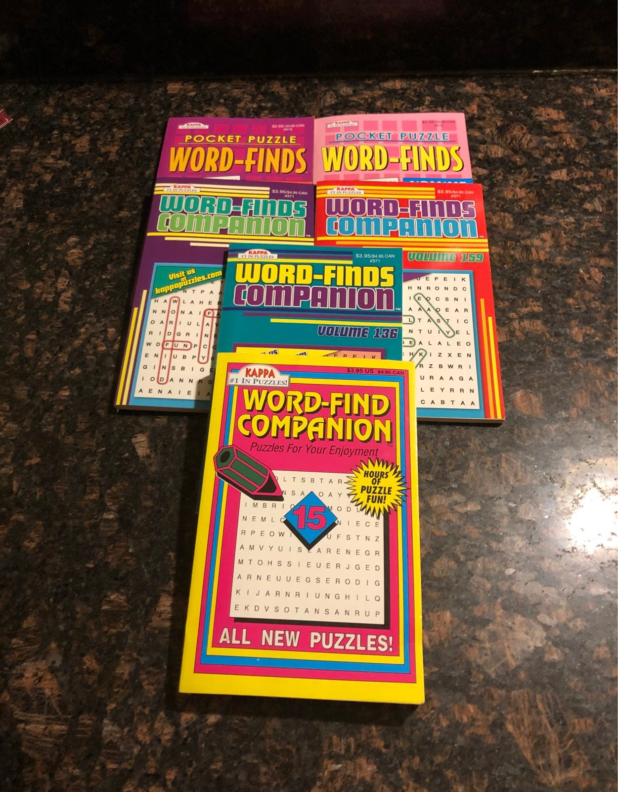 Word Find Puzzle Books