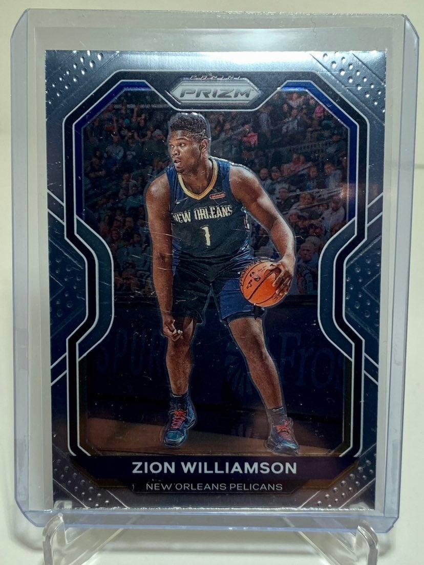 20-21 NBA Prizm ZION WILLIAMSON Card