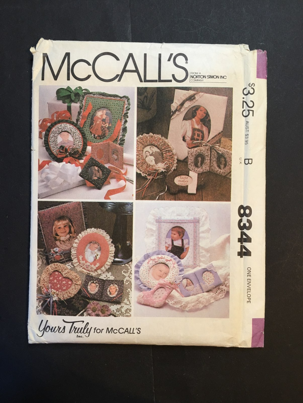 Sewing Pattern McCall's Cloth Frames