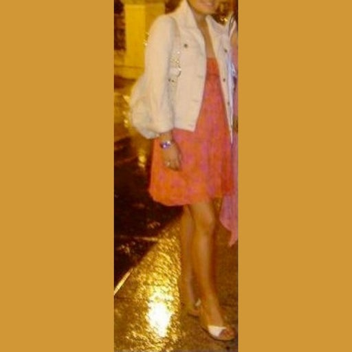 Calypso 100% Silk Coral Floral Skirt