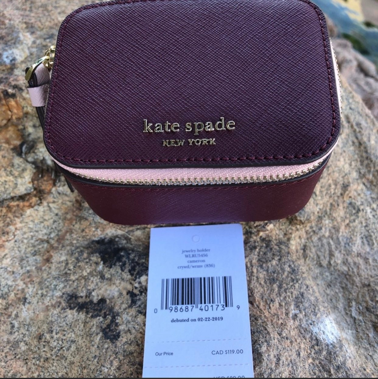 Kate Spade jewelry case NWT