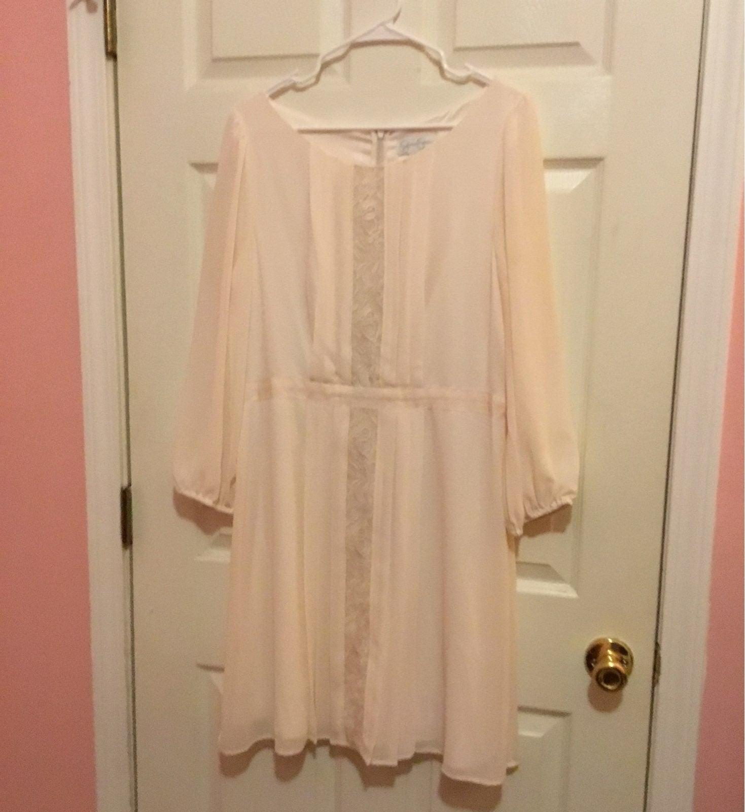 Jessica Simpson Very Light Pink Dress