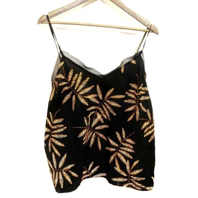 A New Day Mesh Lined Tropical Tank Top