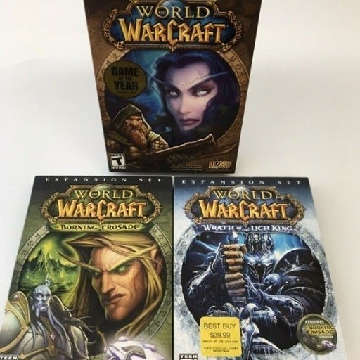 World of Warcraft Lich & Crusade PC WOW