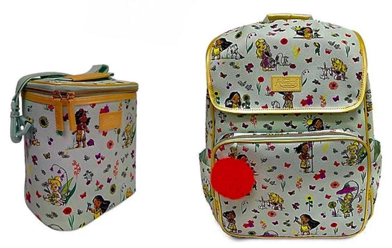 Disney Animators Match Lunchbox Backpack
