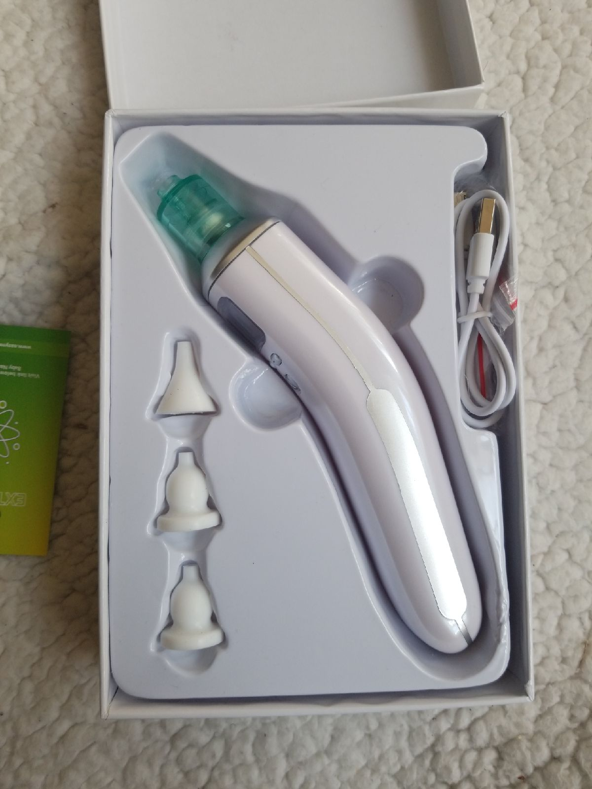 Electric nasal clear aspirator