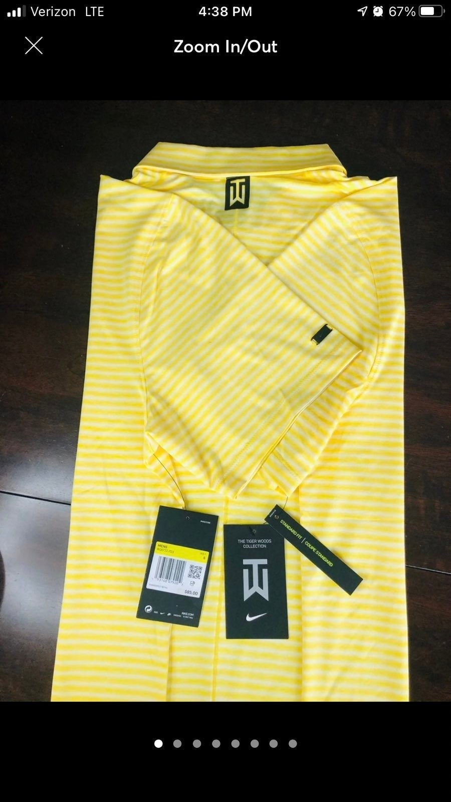 Nike Vapor Dry Tiger Woods Polo
