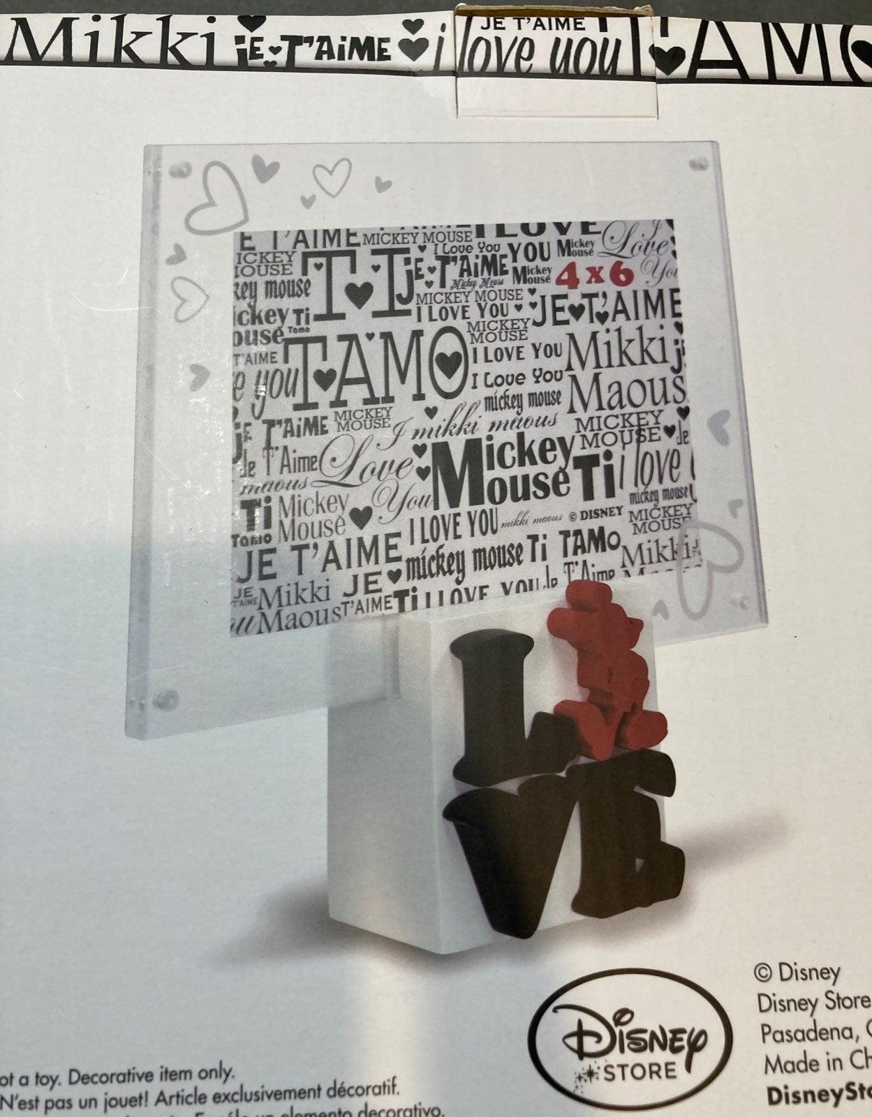 Disney LOVE Picture Frame