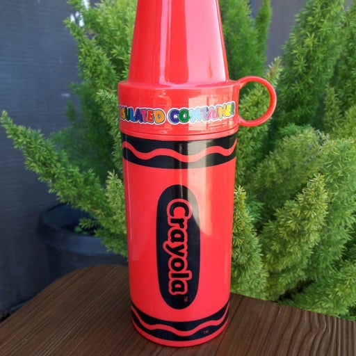 VTG Crayola Crayon Insulated Container