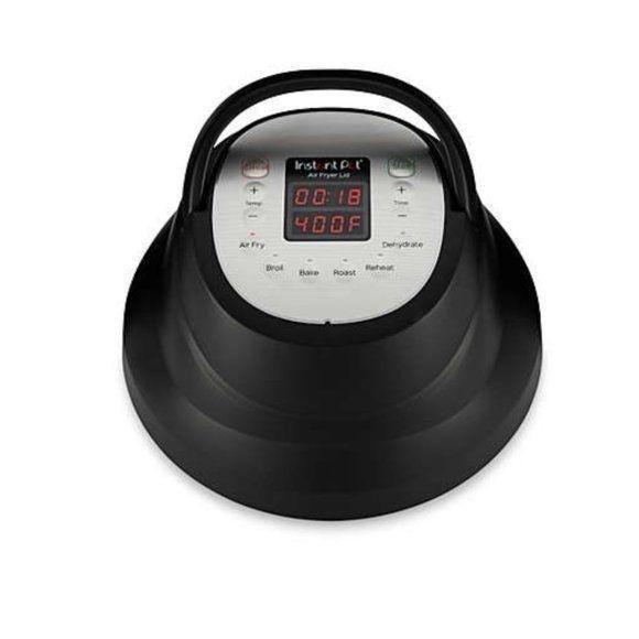 Instant Pot 6 qt. Air Fryer Lid in Black