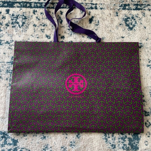 XL Tory Burch shopping bag
