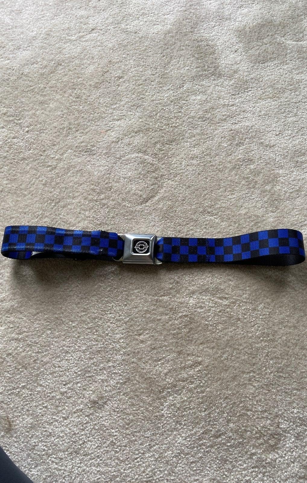 Chevrolet buckle belt