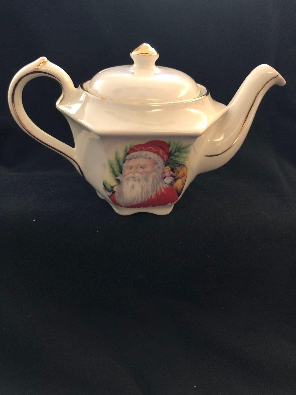 Windsor Santa Mini Tea Pot Vintage