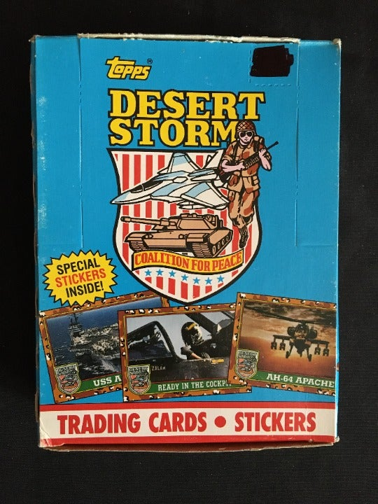 Desert Storm Trading Cards & Stickers