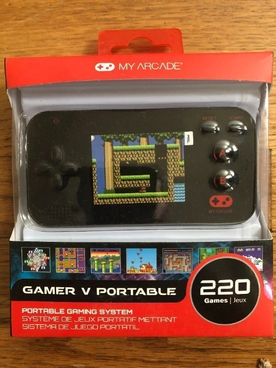 my arcade Gamer v portable