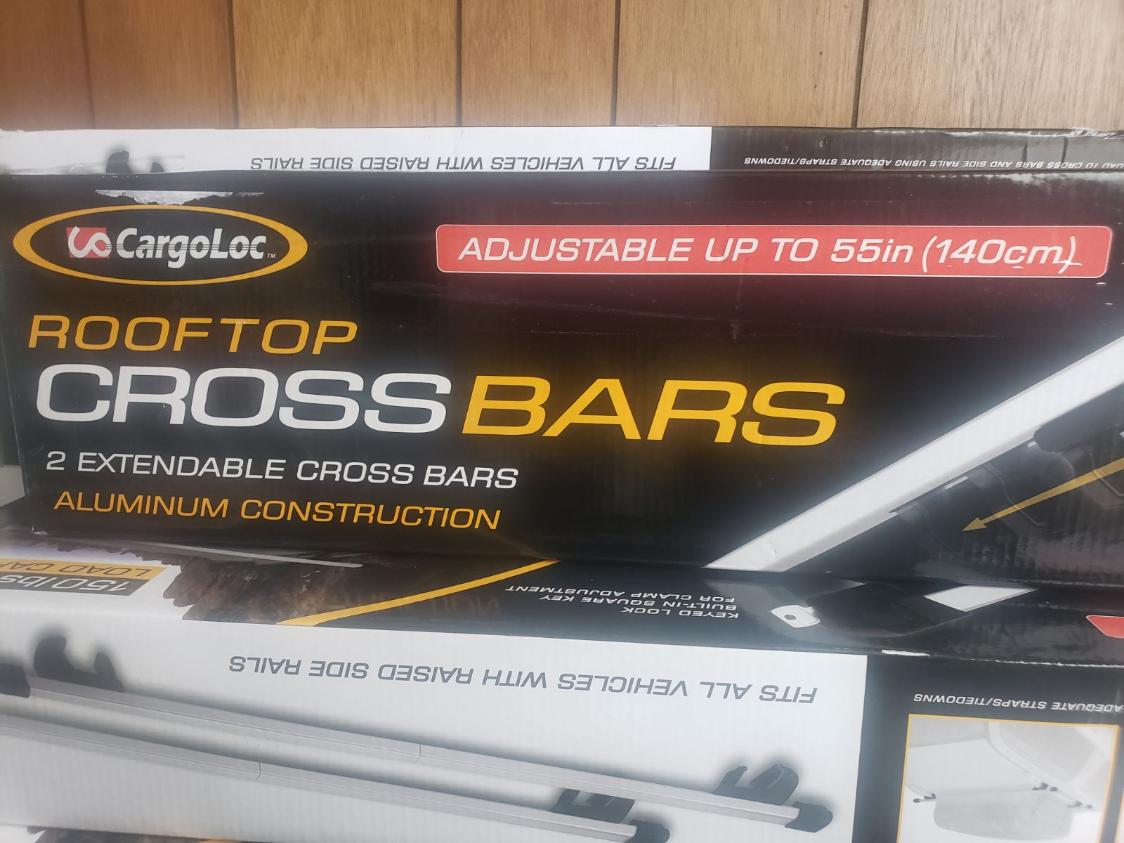 Brand new rooftop cross bars
