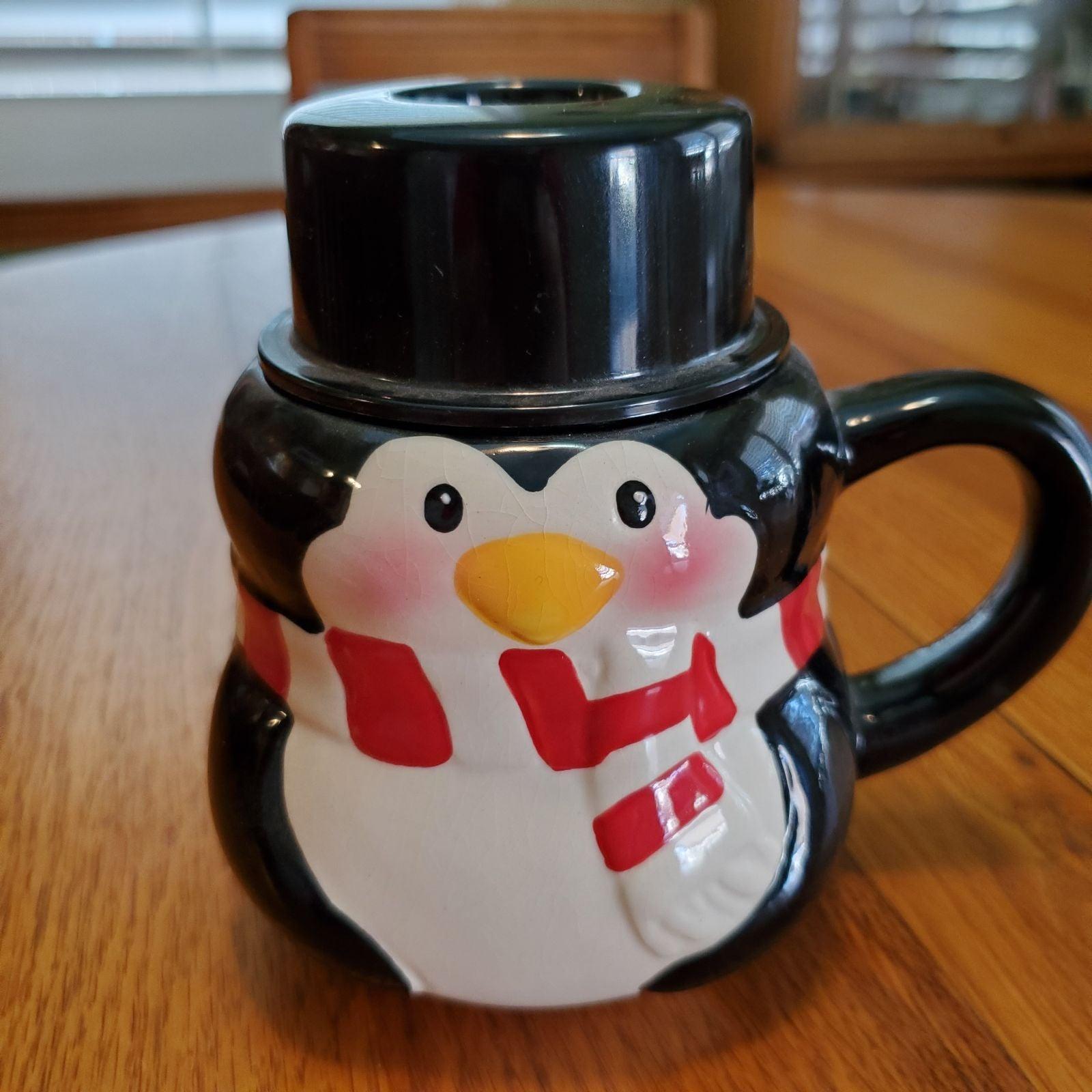 BonJour Penguin Mug