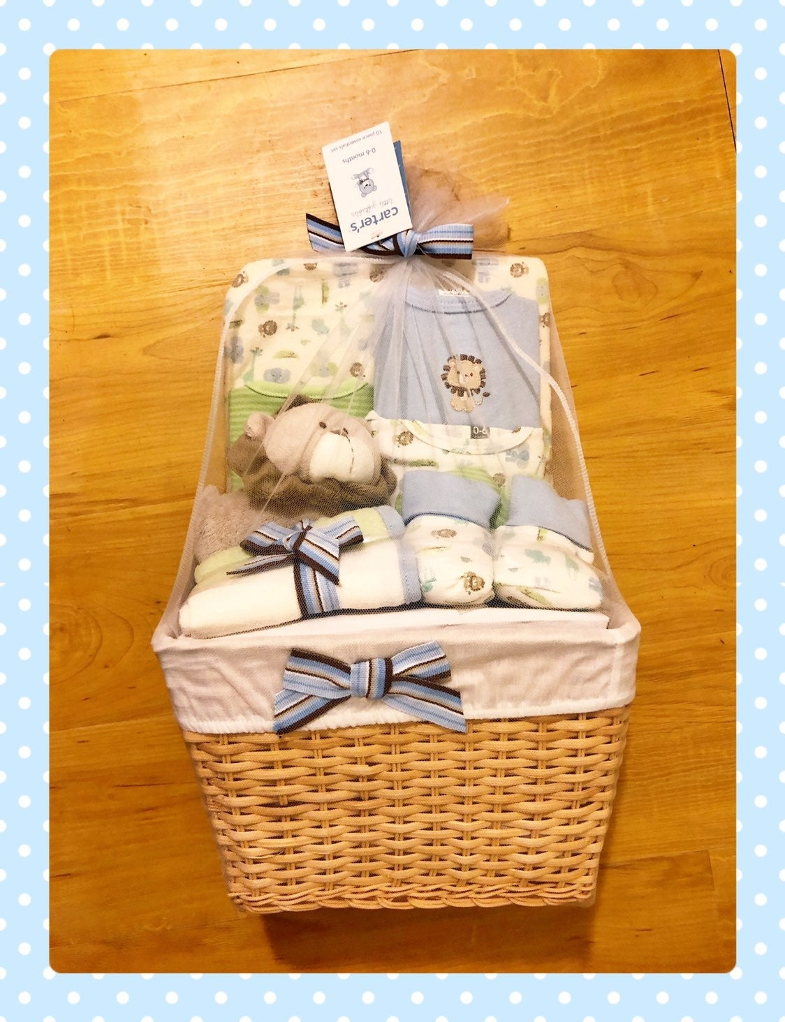 Carters Gift Basket 0-6 months