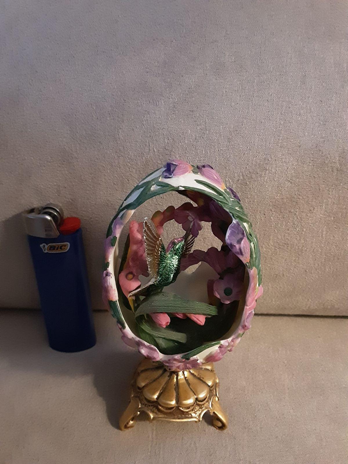 Franklin Mint Porcelain Egg