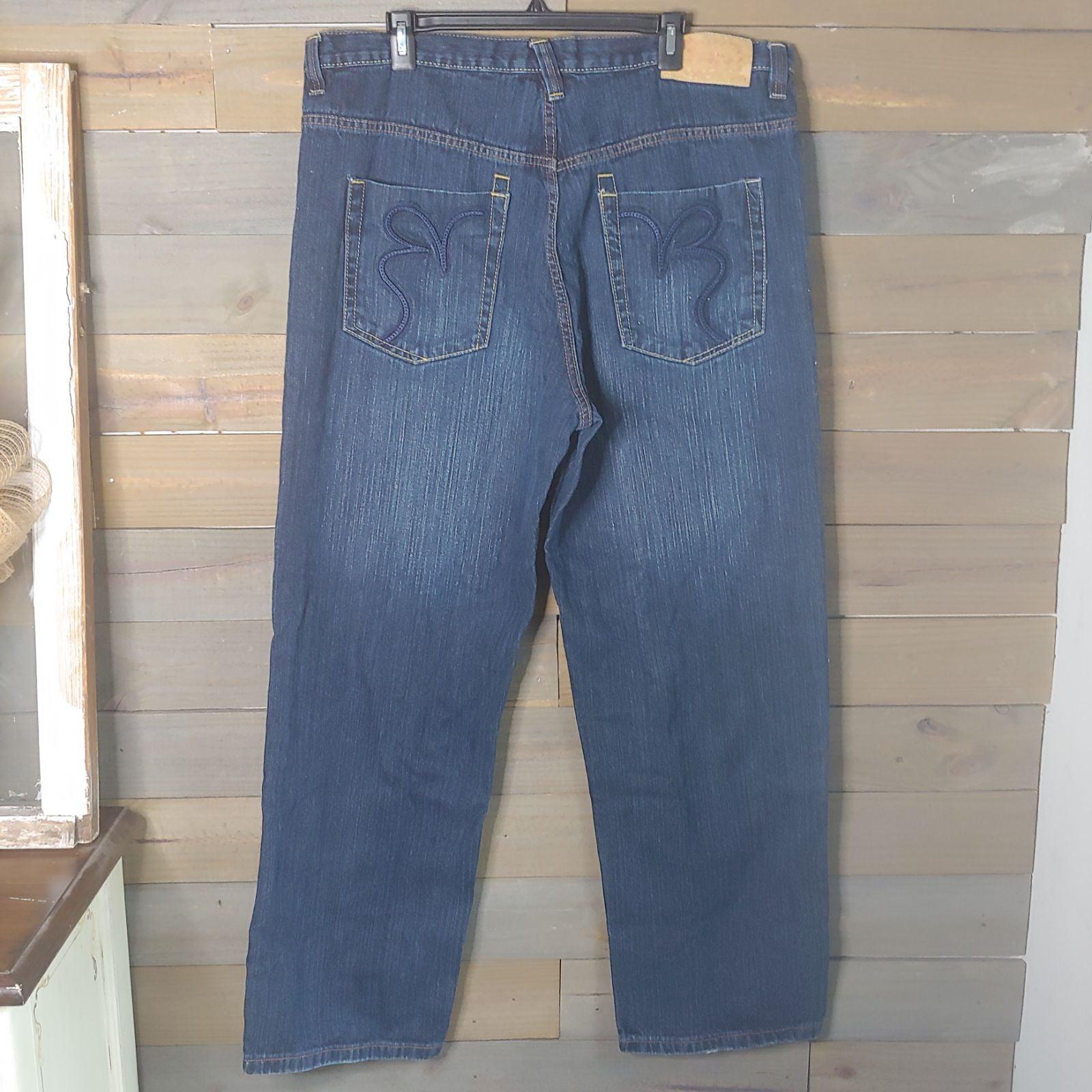 Brooklyn Xpress Womens Dark Wash Jeans