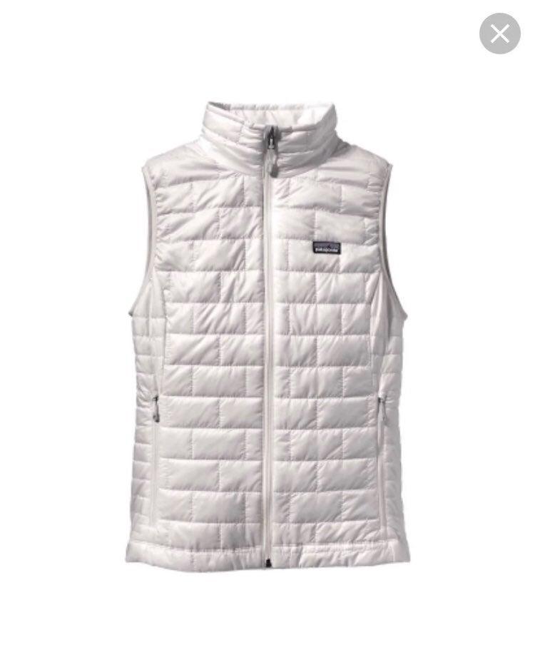 Patagonia Nano Puff Vest White