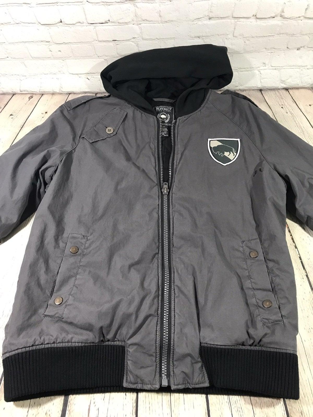 Buffalo david bitton jacket with hoodie