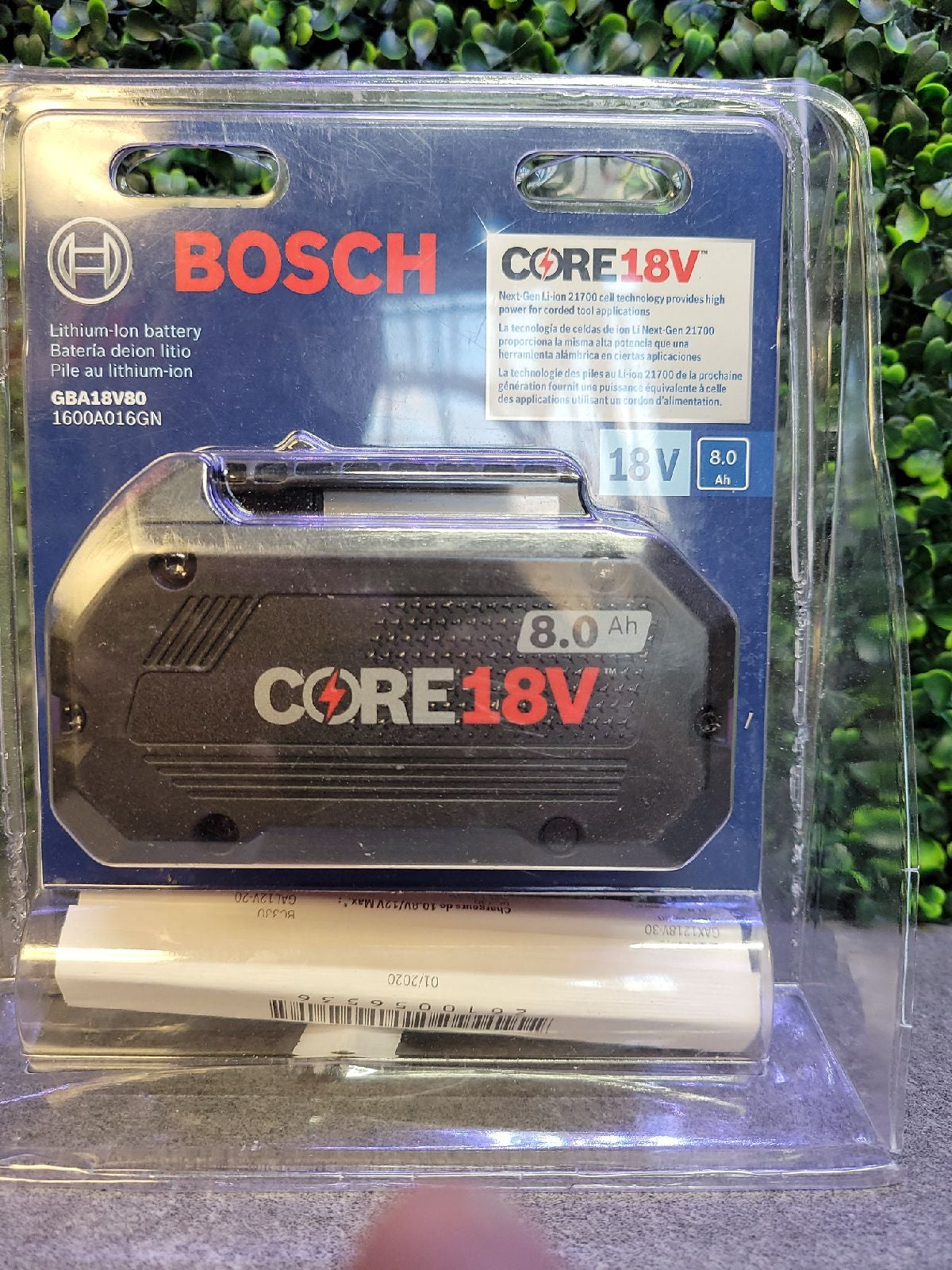 Bosch battery 18v 8ah (Brand New)