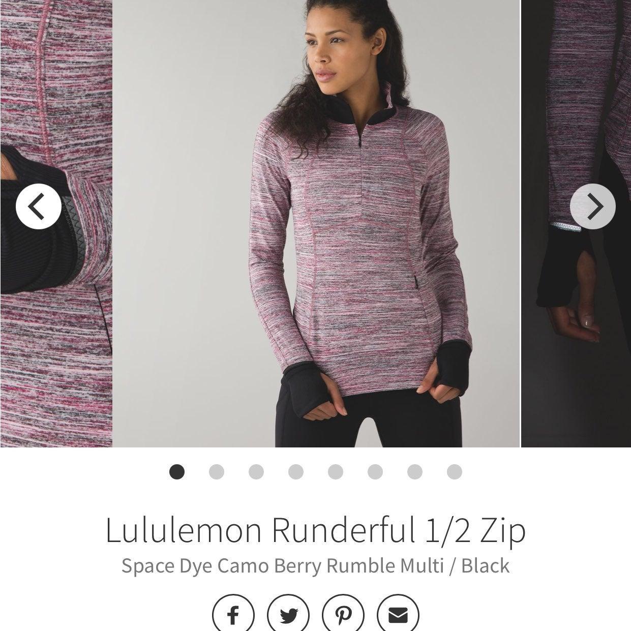 Lululemon  pullover.  Size 6