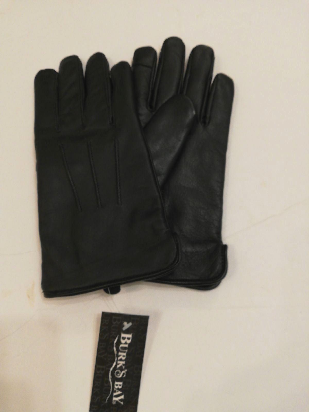 Leather Gloves, men's medium 8 1/2