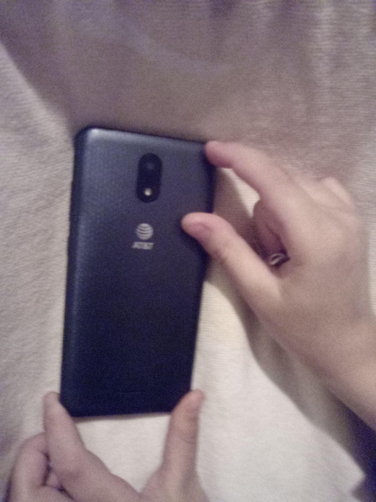 At&t phone black