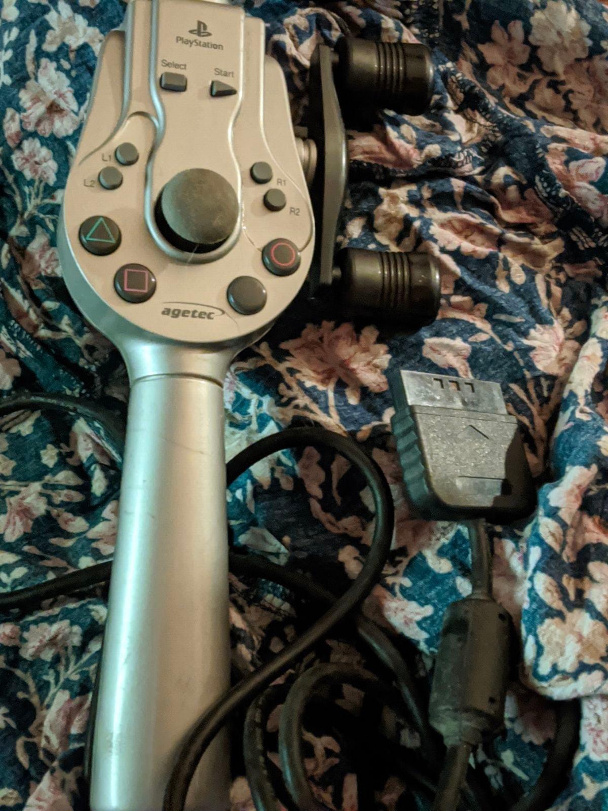 PS1/PS2 Agetec Fishing Controller - Rare