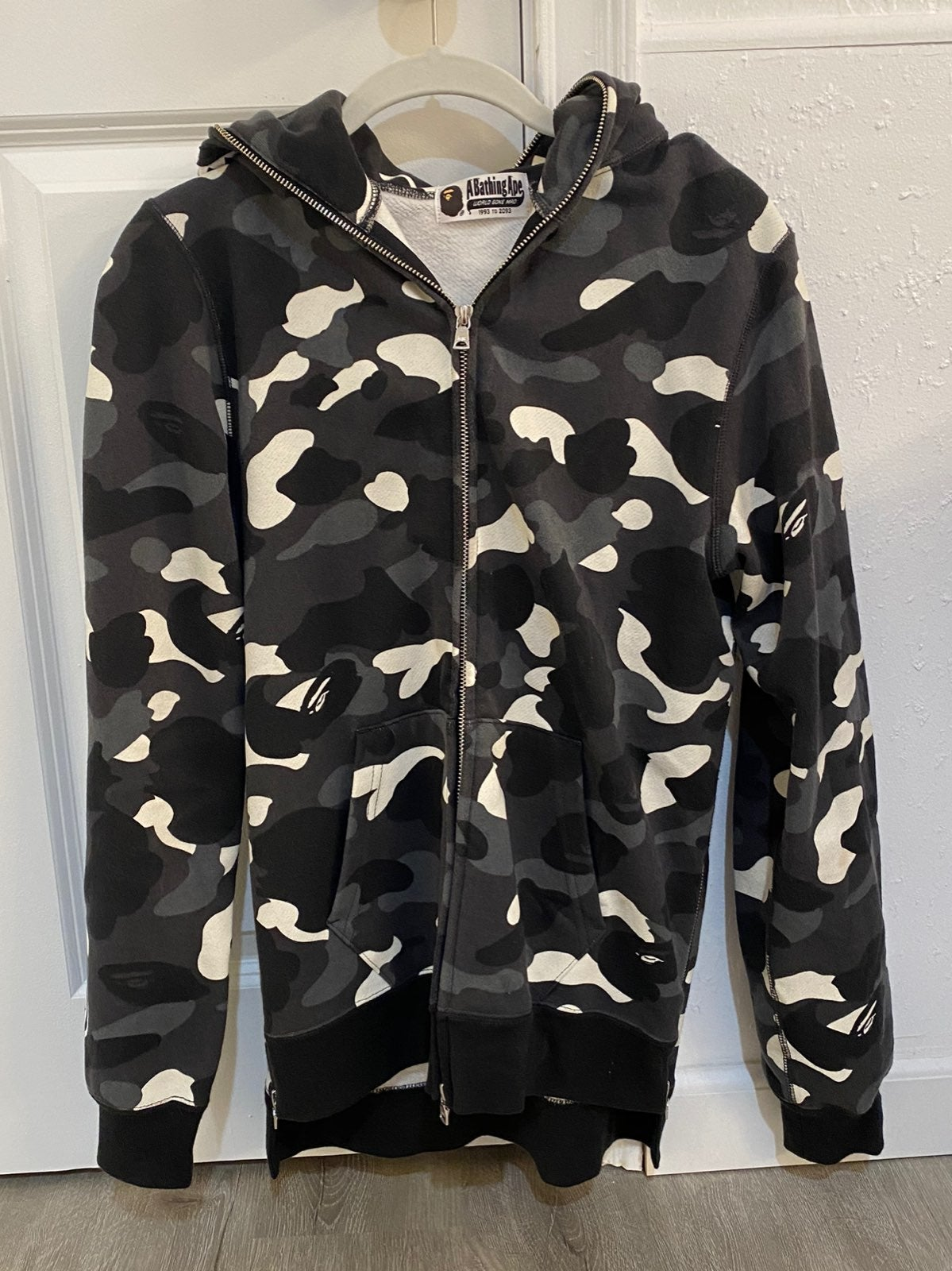 Bape Glow In The Dark Shark Hoodie Camo