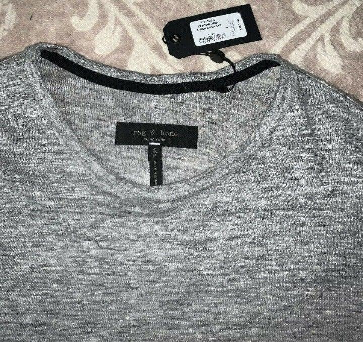 Rag & Bone Owen Linen Long Sleeve Shirt