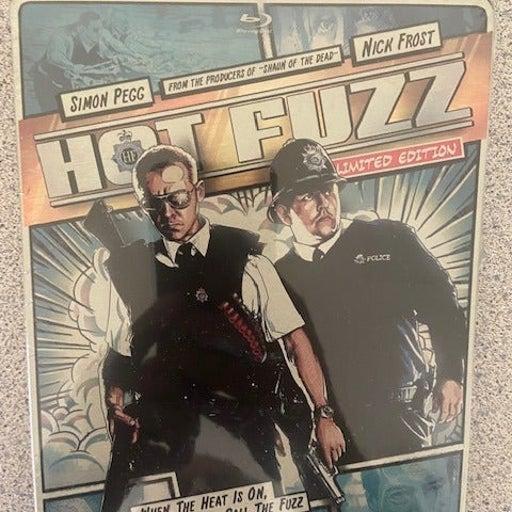 Hot Fuzz Limited Edition Blu-ray Steelbook Comic Art Blu-ray SteelBook