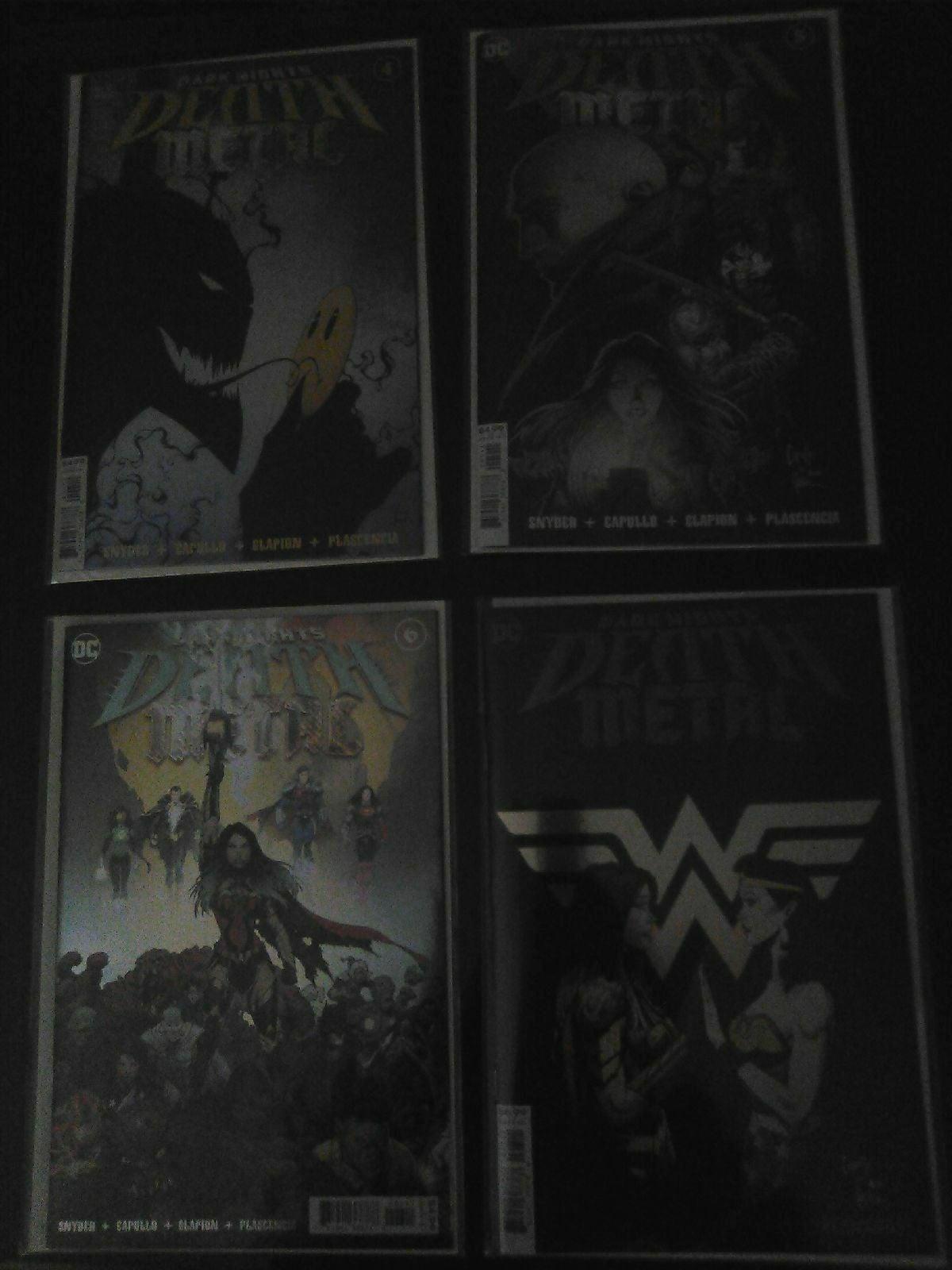DC Death Metal lot 4,5,6,7