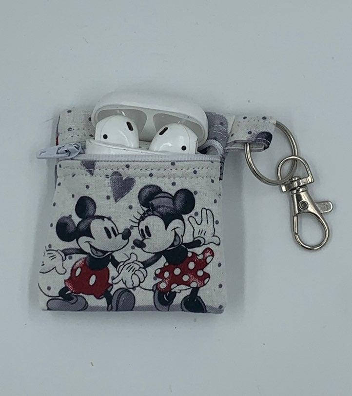 Mickey & Minnie fabric Airpods  case