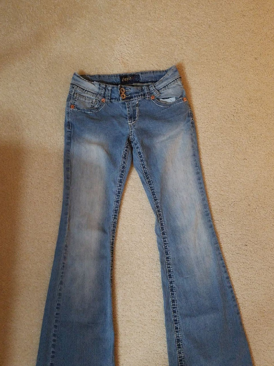 2 Pairs Juniors Jeans Size 9