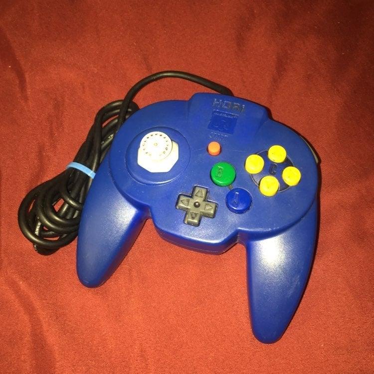Hori Blue n64 controller