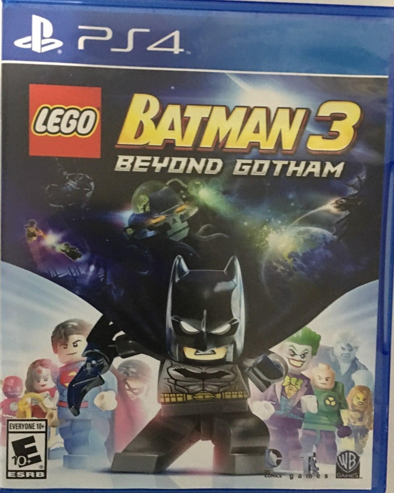 Lego Batman 3 Beyond Gotham Game PS4