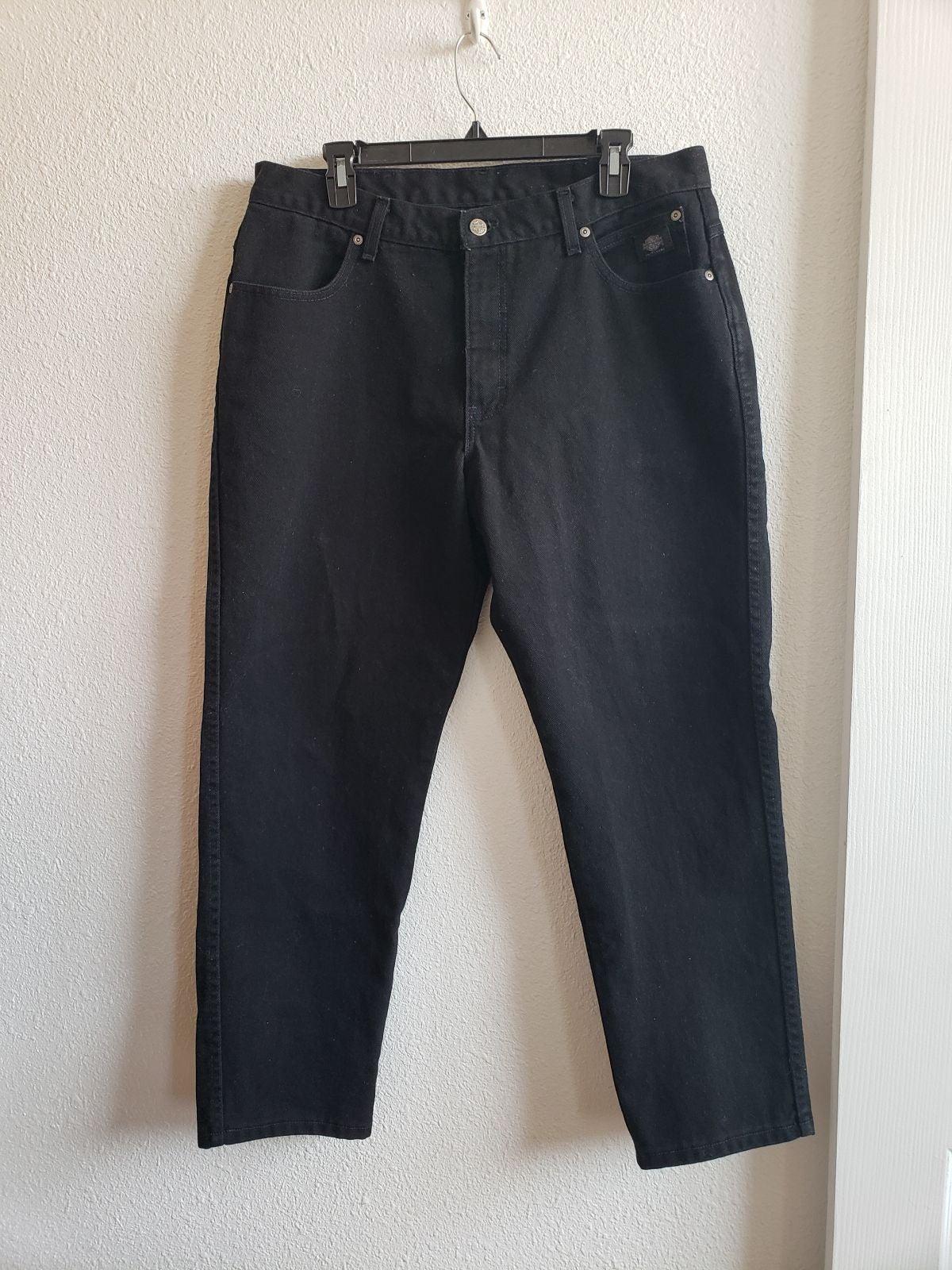 Harley Davidson  Cotton black  jeans