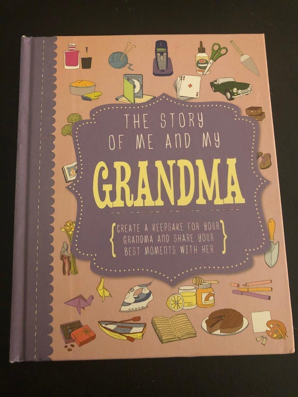 Book for Grandma STORY OF ME AND MY GRAN